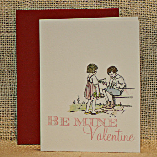 Be Mine Front Etsy